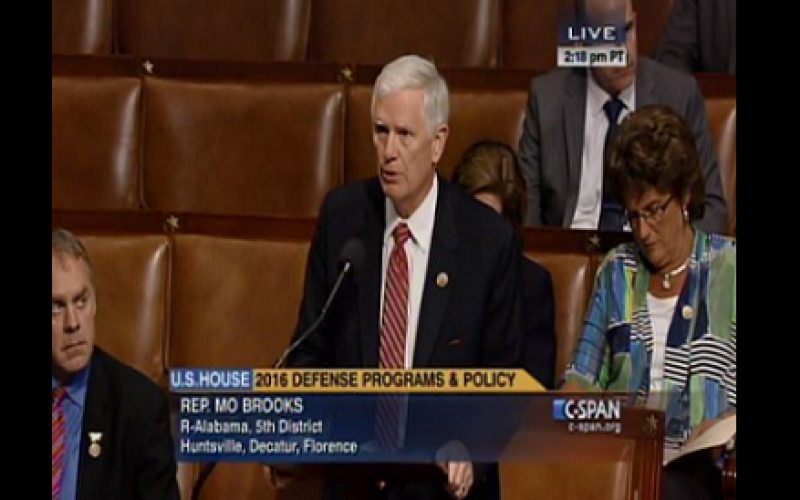 House Passes Brooks' Amendment to Protect Military Service Opportunities for Americans