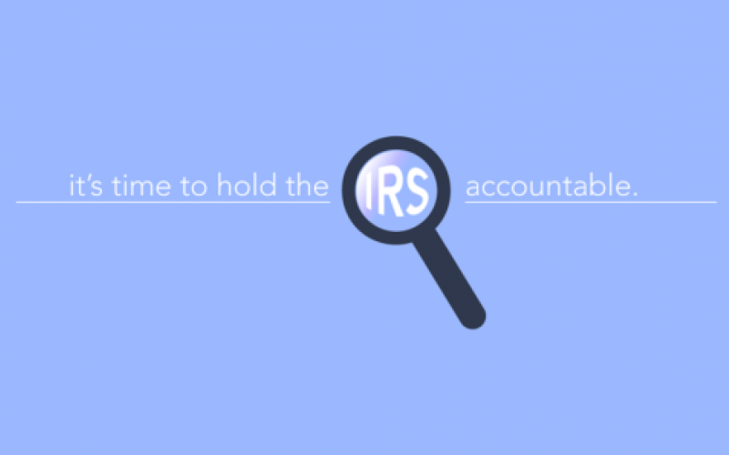 House Passes Taxpayer Relief Legislation to Rein in IRS Abuse